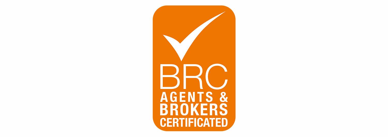 BRC logo, maris seafoods