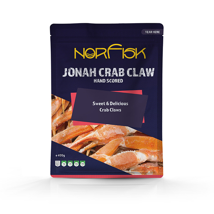 Maris seafoods, norfisk, jonah crab claw