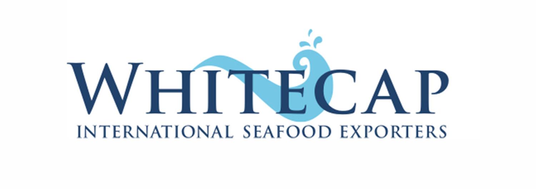 Maris Seafoods, whitecap logo